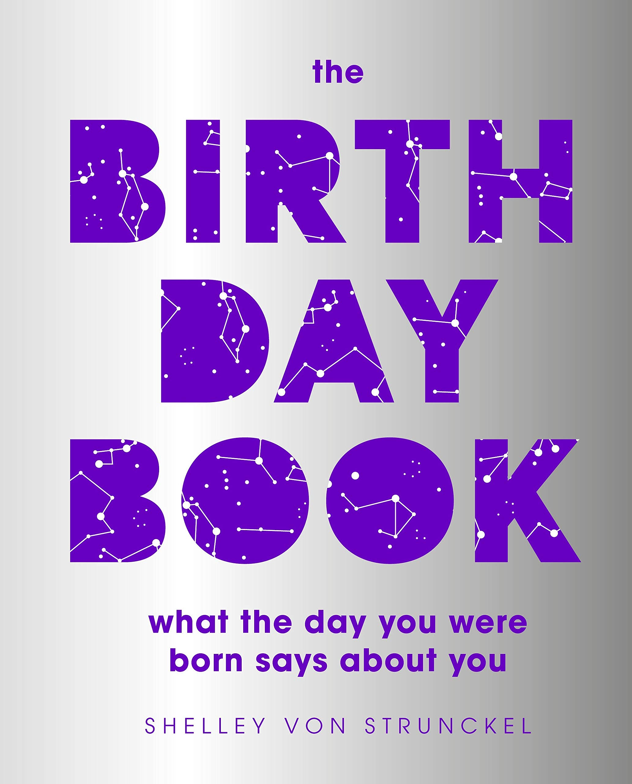 The Birthday Book What The Day You Were Born Says About You Von Strunckel Shelley 9780744024449 Amazon Com Books