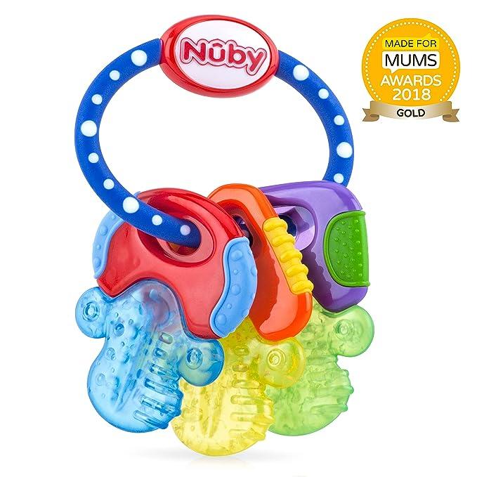NUBY Llaves de dentición refrigerantes con pureICE Gel