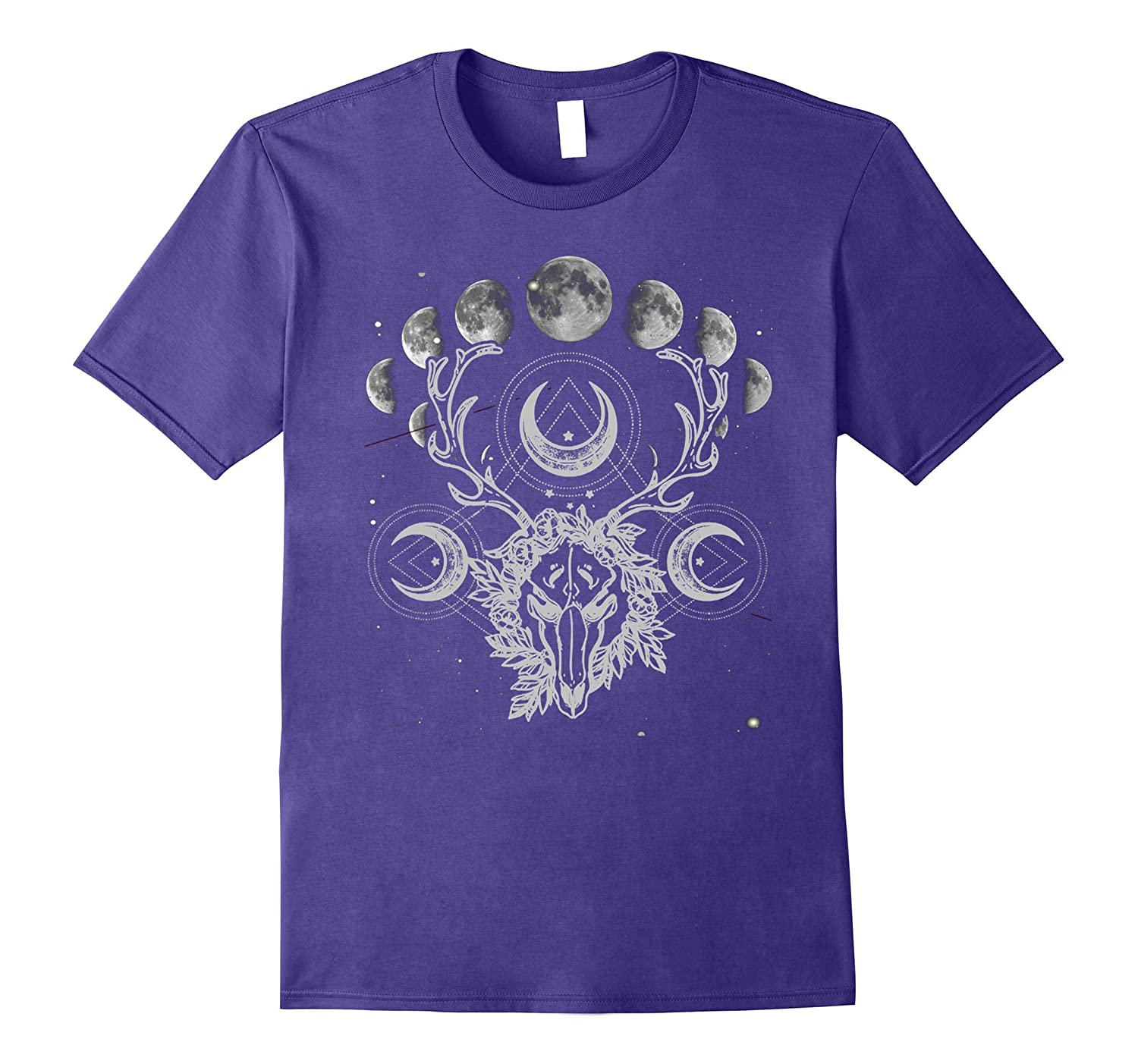 Crystals Moon Gothic Punk Tee-Art