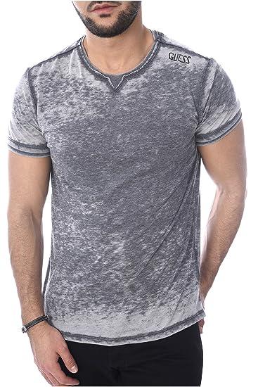 Guess Tee Shirt Fluide Mailles Dévorées M81i46 Jeans  Amazon.fr  Vêtements  et accessoires d207e76983d