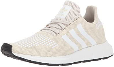 adidas Originals Women's Swift W Running-Shoes,Clear Brown/White/Crystal  White