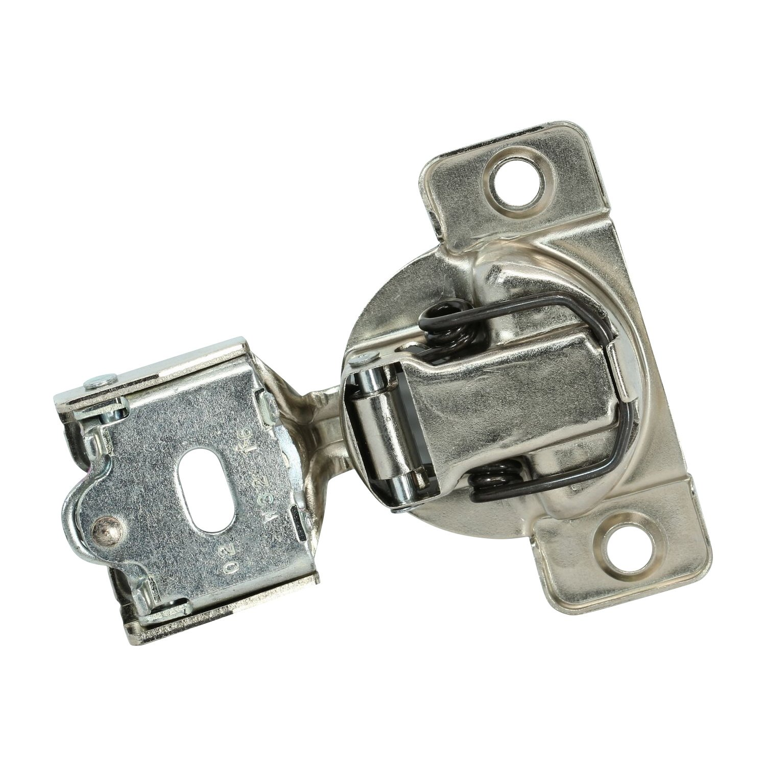 25 Pack Rok Hardware Grass TEC 864 108 Degree 1//4 Overlay 3 Level Soft Close Screw On Compact Cabinet Hinge 04429A-15 3-Way Adjustment 45mm Boring Pattern G04429A-15-25
