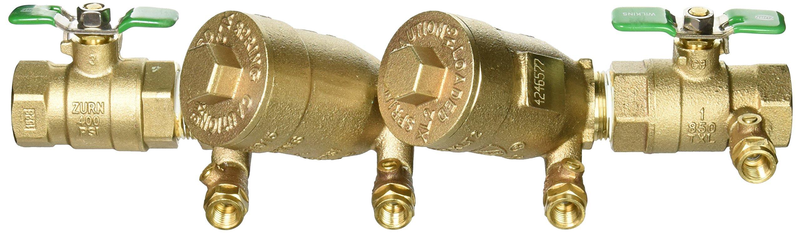 Zurn 1-950XLT2 Wilkins Double Check Valve Backflow Preventer 1'' Lead Free by Zurn (Image #9)