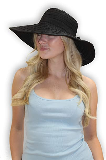 1f2a8c1c4d6 Women s Wide Brim Packable Sun Travel Hat for Large Heads - Ginger (XLarge