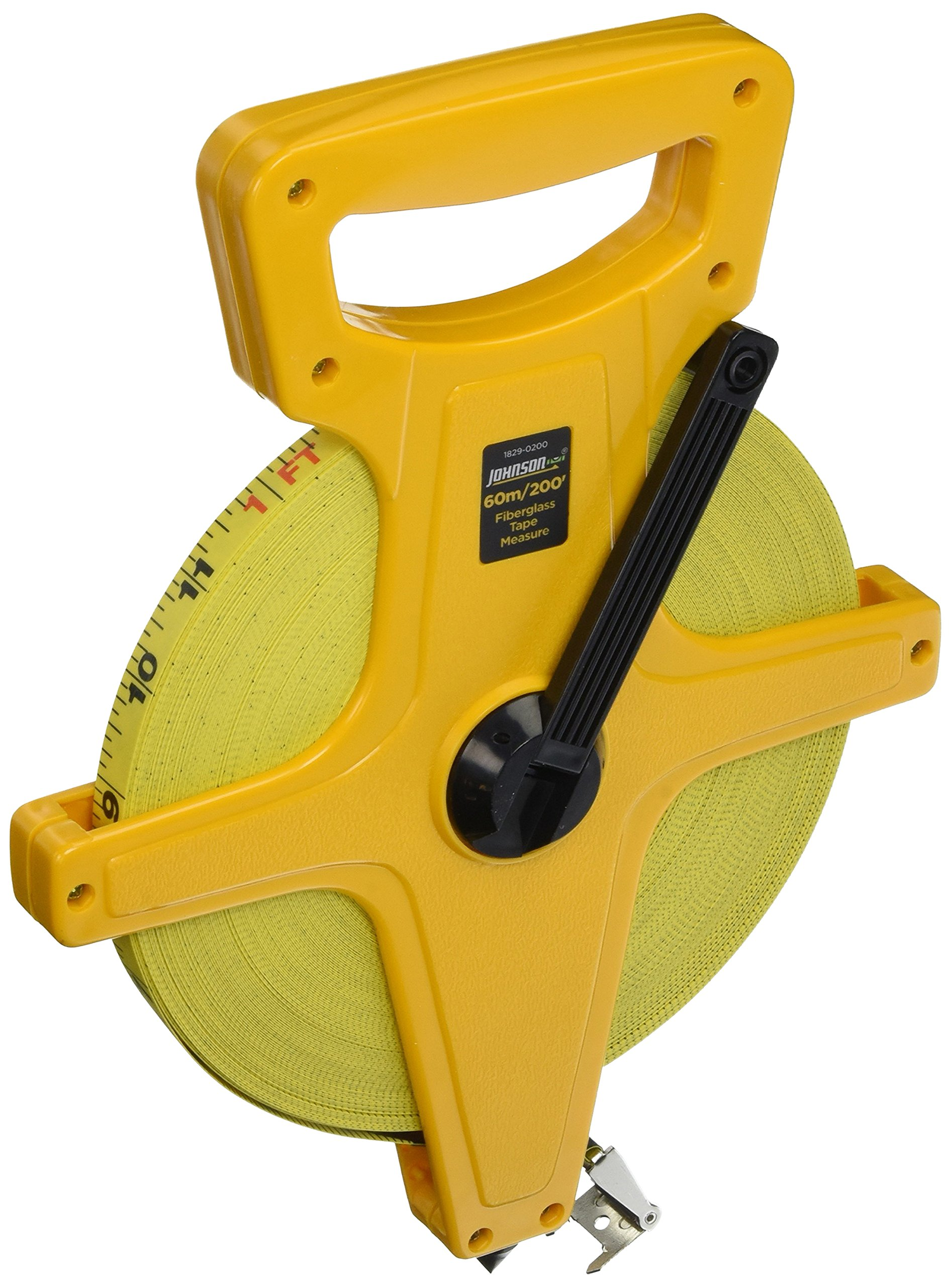 Johnson Level & Tool 1829-0200 Long Tape Measure Metric, 200-Feet by Johnson Level & Tool