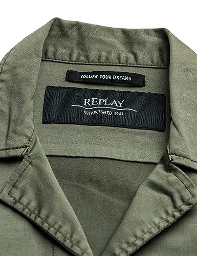 04c41d5716d6 Replay Damen Jacke  Amazon.de  Bekleidung