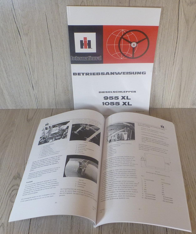 Werkstatthandbuch Fahrgestell IHC 955 1055 WHB