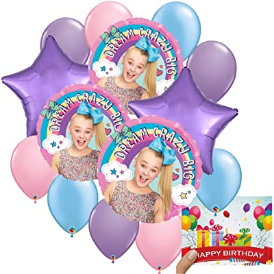 Jojo Siwa Party Supplies Balloon Decoration Bundle: Toys & Games