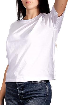 Camiseta Mujer Diseño   Talle Corto y Holgado   Manga Corta   Algodón