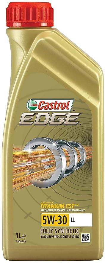 Castrol 57420 EDGE Titanium Aceite para Motor FST 5W-30 LL, 1L (Sello