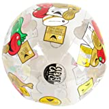 """American Educational Vinyl Clever Catch Food and Nutrition Ball, 24"""" Diameter"""