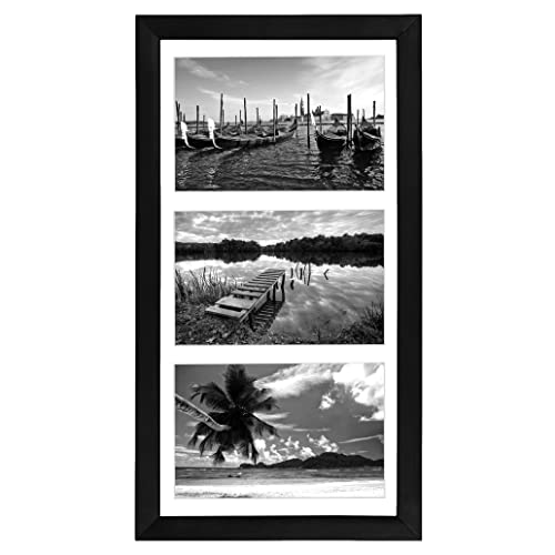 3 opening 5x7 frame reclaimed wood americanflat 8x16 collage picture frame black opening 5x7 frame amazoncom