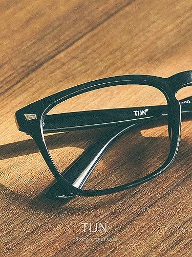 bbd2e49e4e Sunglasses   Eyewear Accessories TIJN Unisex Stylish Square Non-prescription  Eyeglasses Glasses Clear Lens Eyewear 00005008