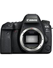 Canon EOS 6D Mark II body only Digital Camera - SLR(6DIIB) 3Inch Display,Black (Australian warranty)