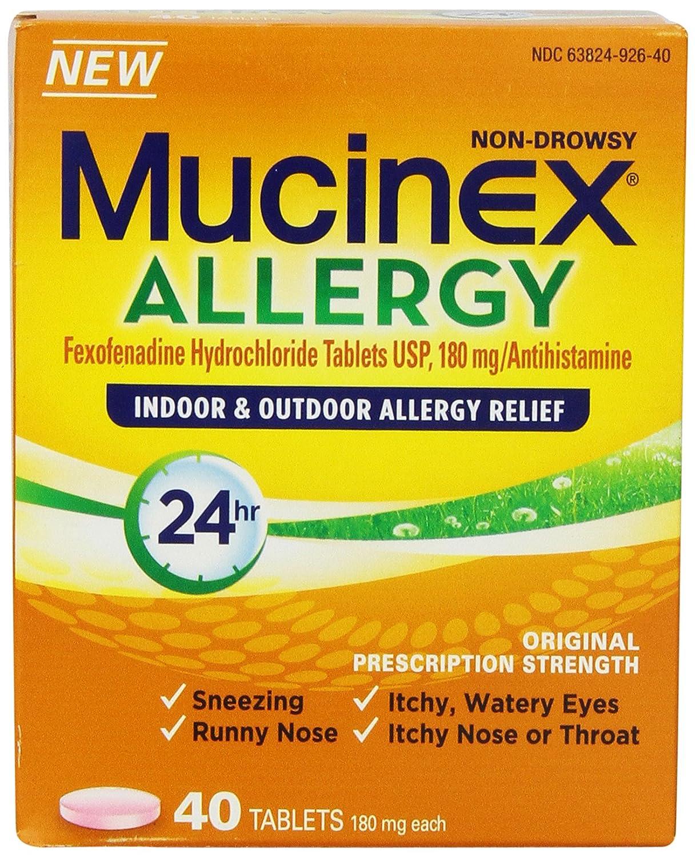 Mucinex Allergy