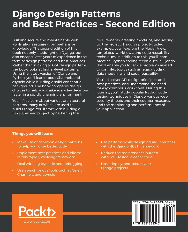Django Design Patterns and Best Practices: Industry-standard web