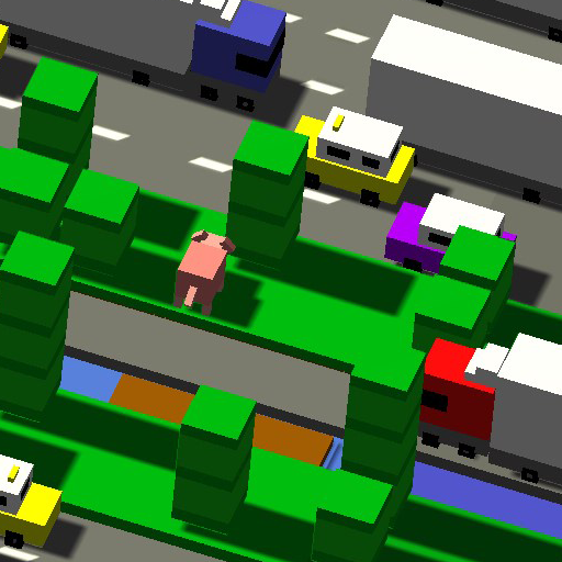 Animals: Cross the line (Car Games To Play On The Road)