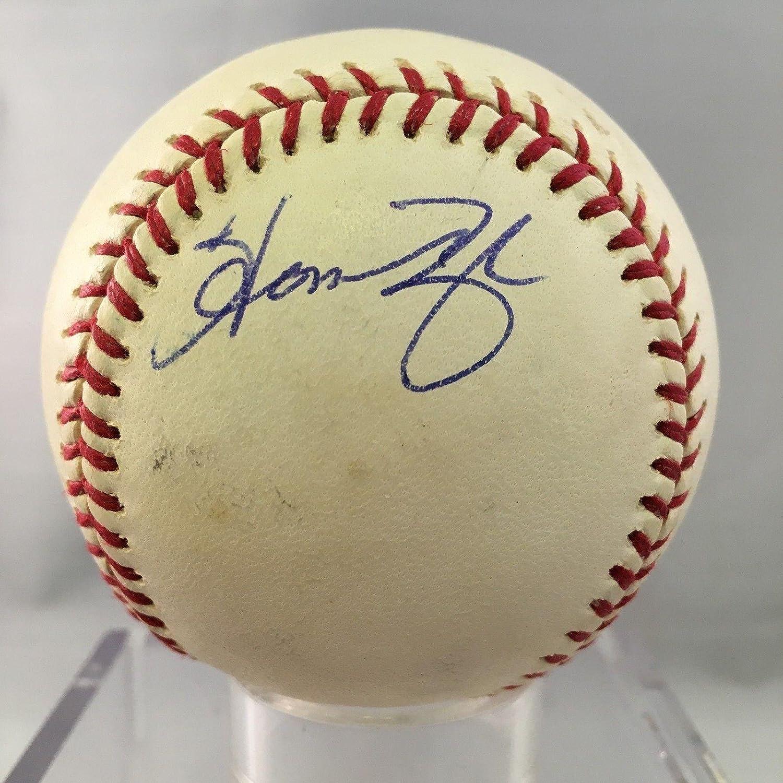 Baseball-mlb Useful Austin Jackson Autographed Signed Baseball Omlb Twins Marlins
