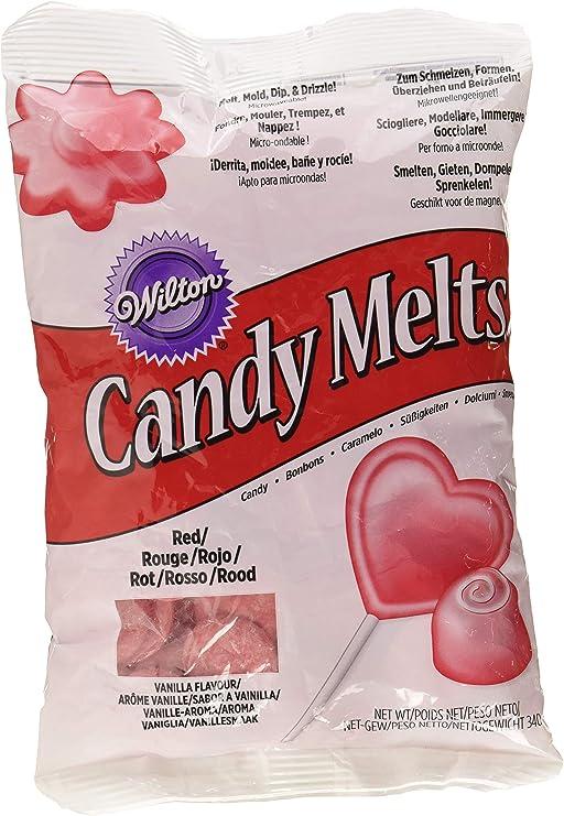 Wilton Candy Melts, Color Rojo - 340 gr: Amazon.es ...