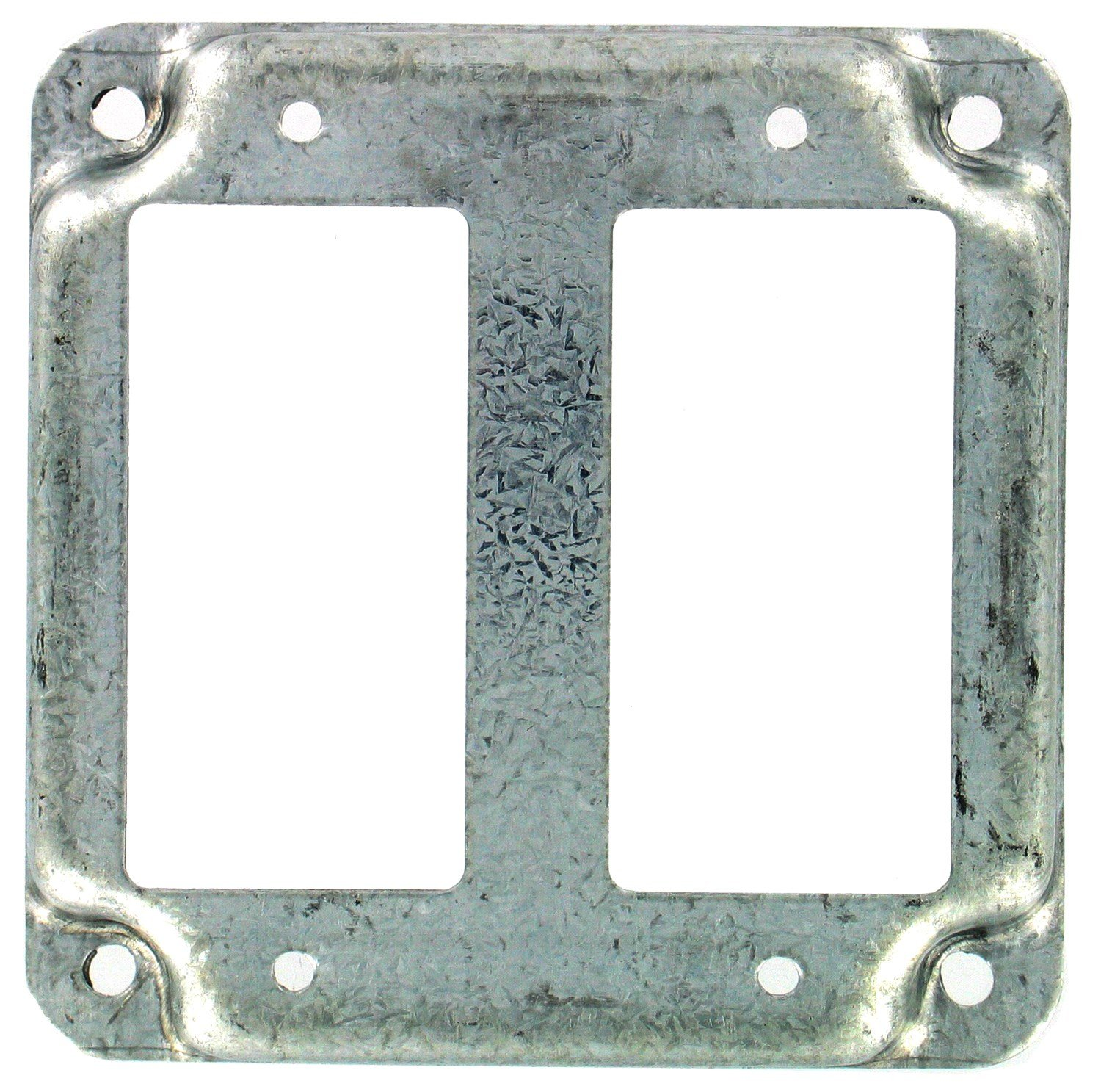 Raco 809C 4'' Square 2 GFCI Exposed Work Cover