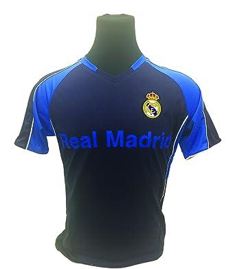 Amazon.com  Official Real Madrid Soccer Jersey Navy 9e92e0e9e