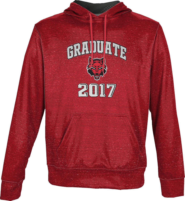 School Spirit Sweatshirt ProSphere Arkansas State University Graduation Mens Pullover Hoodie Heather