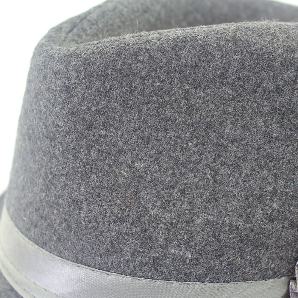 8038336bd19 Amazon.com  YOYEAH Women Vintage Top Hat Party Cap Trilby Classic Flower  Elegant Panama Hat Retro Warm Bowler Hat Black  Home   Kitchen