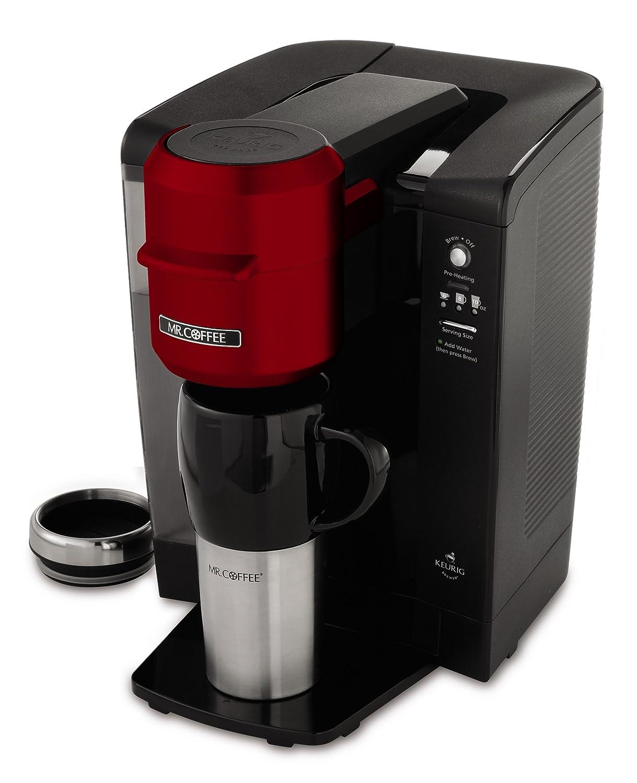 Amazoncom Mr Coffee Single Serve 40 Oz Coffee Brewer Red