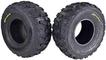 KENDA 6 PLY Bear Claw 25x10-12 ATV Tire Set of 2 TIRES 25x10x12 Pair Bearclaw