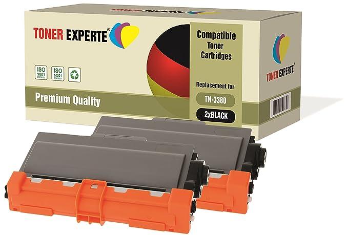 TONER EXPERTE/® Compatible DR3300 Imaging Drum Unit TN3380 Toner Cartridge for Brother HL-5440D HL-5450DN HL-5470DW HL-6180DW MFC-8510DN MFC-8520DN MFC-8950DW MFC-8950DWT DCP-8110DN DCP-8250DN