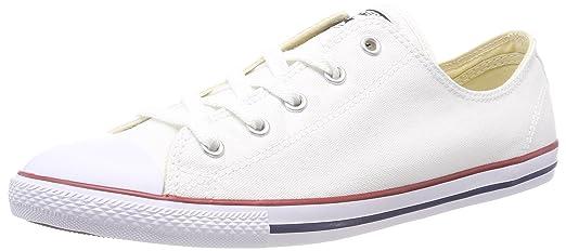 Converse CT Dainty Ox C537204 Damen Sneaker, Sneaker, Damen Weiß (Blanc Rouge ... daa854