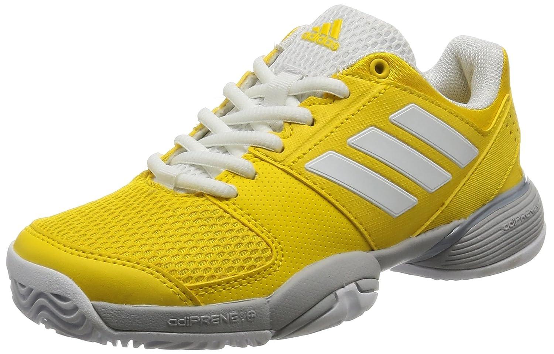 Adidas Barricade Club Xj, Zapatillas de Deporte Unisex Niñ os Zapatillas de Deporte Unisex Niños Amarillo (Eqtama/Ftwbla / Gridos) 38 EU BY9972