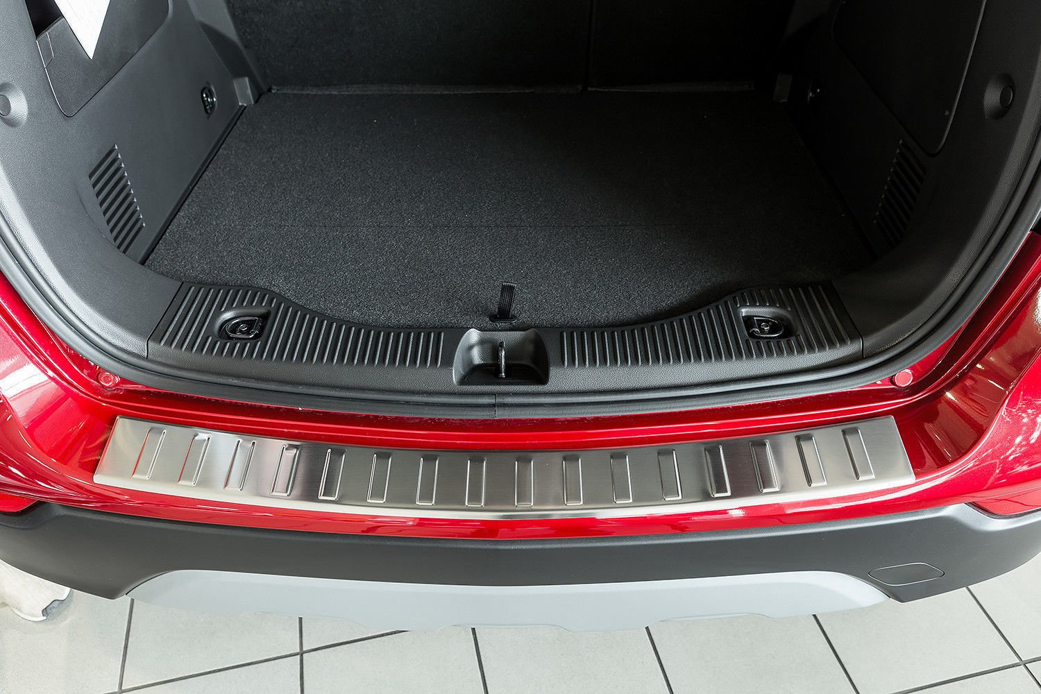 Stainless Steel Chrome Rear Bumper Protector Scratch Guard