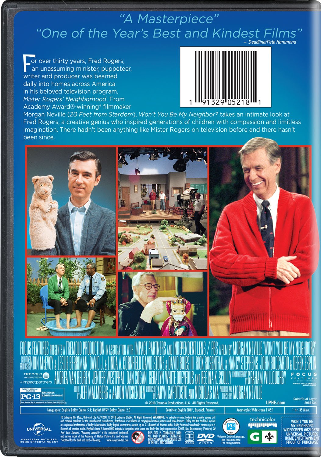 Amazon com: Won't You Be My Neighbor?: Fred Rogers, Morgan Neville