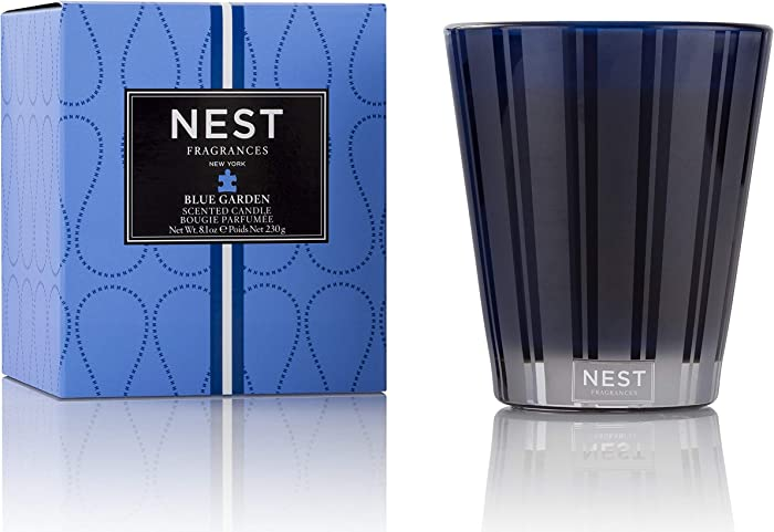 NEST Fragrances NEST01BG003 Classic Candle- Blue Garden , 8.1 oz
