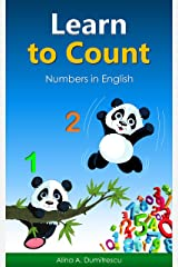 Learn to Count: Numbers in English (Picture Books - Children's Basic Concepts Book 1) Kindle Edition