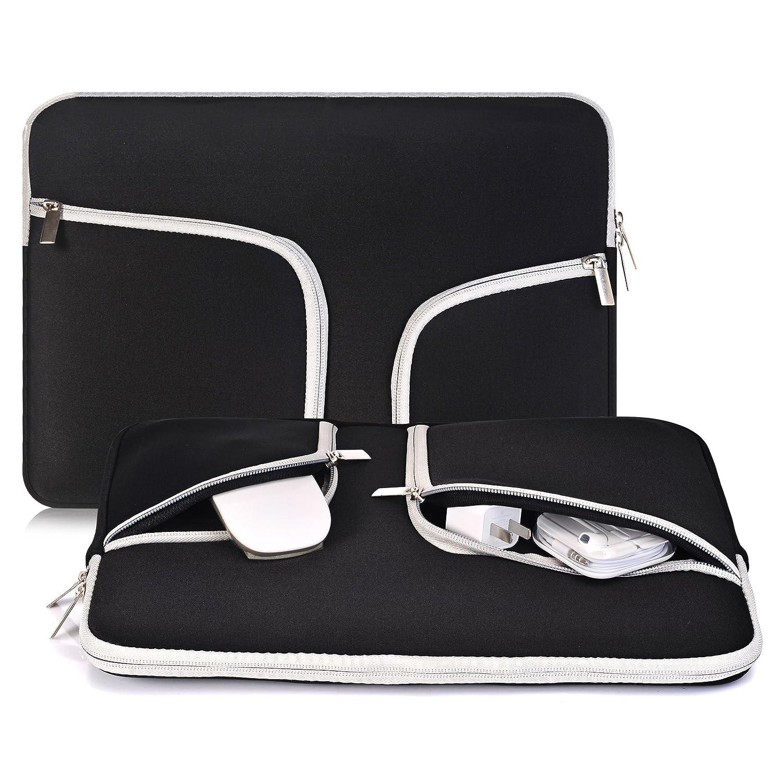 quality design 98a18 c7649 Laptop Sleeve Case 14-15.4 Inch, Egiant Water Repellent Protective Bag  Compatible Mac Pro 15 Retina|Mac pro 15 Touch bar A1707|Chromebook ...