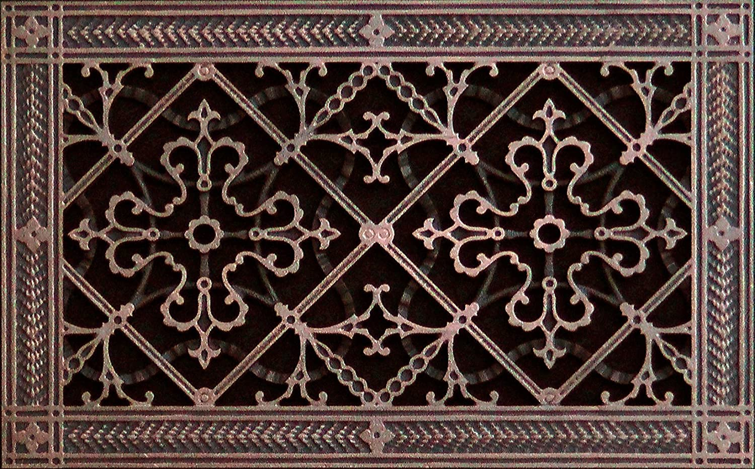 Decorative Grille, Vent Cover, or Return Register. Made of Urethane Resin to fit Over a 8