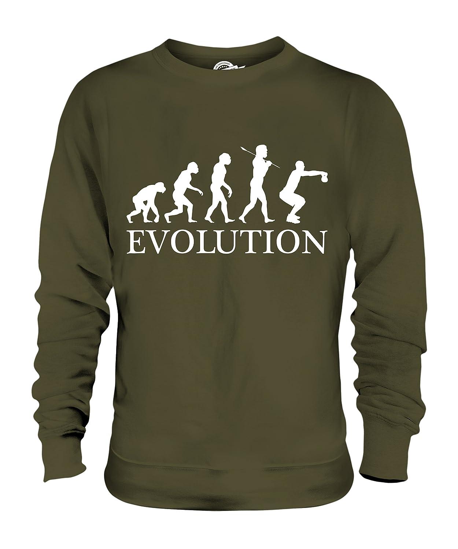 Candymix - Fitness Evolution of Man - Unisex Sweatshirt Mens Ladies Sweater Jumper Top
