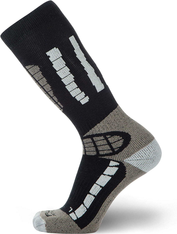 Pure Athlete Youth Ski Socks - Merino Wool Children Skiing/Snowboard Sock - Junior OTC Ski Socks : Clothing