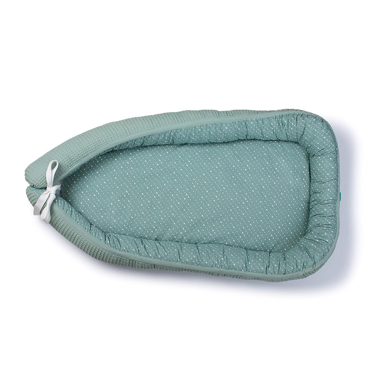 Urban Kanga Nido Beb/é Cuna de Viaje Reductor de Cuna 85 x 56 cm Azul Cama Nido Baby Nest