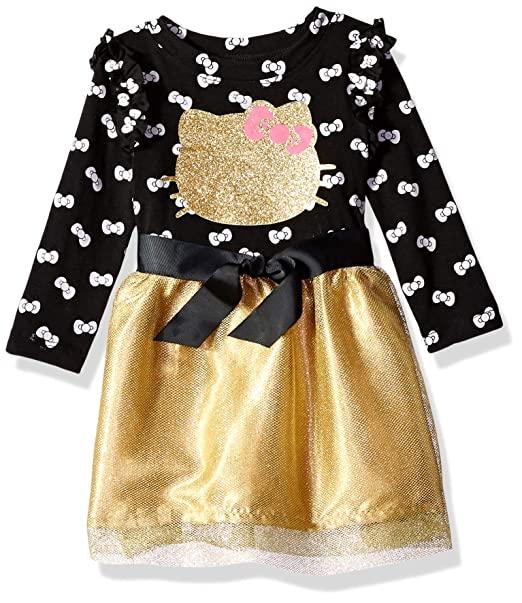 bfb475be585b5 Hello Kitty Baby-Girls Fashion Dress Dress: Amazon.ca: Clothing ...