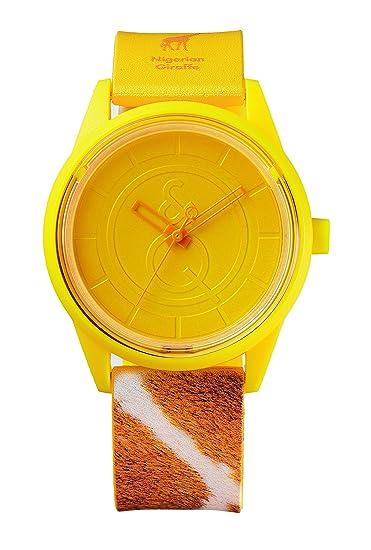 Citizen – Reloj de pulsera unisex Smile Solar analógico de cuarzo plástico rp00 j029y