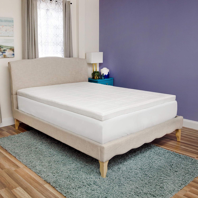 1 Pillow Free Mattress Foam 7 Zones Touch Topper 100x200x7cm