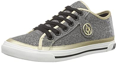e1f6b7a986f7 Armani Jeans, C55A943, Damen Sneakers, Gold (ORO - GOLD 9L), 38 EU ...