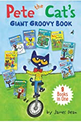 Pete the Cat's Giant Groovy Book: 9 Books in One (My First I Can Read) Hardcover