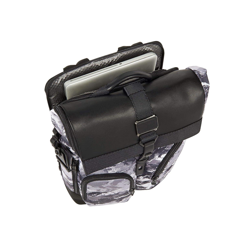 Amazon.com   Tumi Men's Alpha Bravo London Roll Top Backpack, Arctic  Restoration, One Size   Backpacks