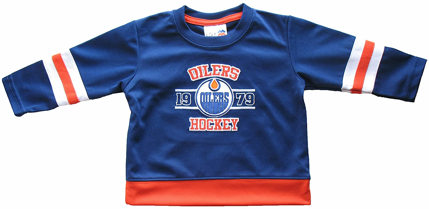 Edmonton Oilers Baby History Fashion Top Mighty Mac