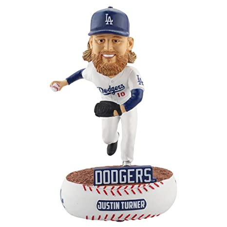 3fb77a84e Amazon.com   Forever Collectibles Justin Turner Los Angeles Dodgers Baller  Special Edition Bobblehead   Sports   Outdoors