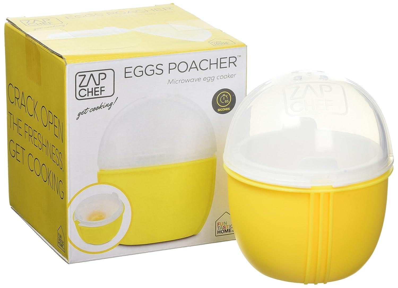 JWP PTC - Escalfador de Huevos para microondas, Color Amarillo ...